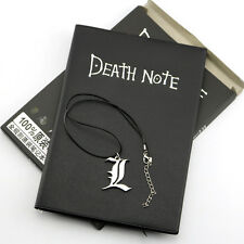 New Anime Death Note Cosplay Notebook+Necklace Set School Large Writing Journal