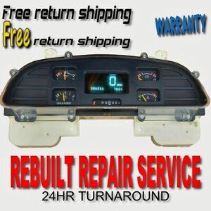 94 95 96 Chevrolet Impala Caprice SS Speedometer Instrument Gauge Cluster REPAIR