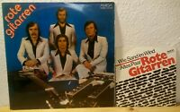 Rote Gitarren - Wie Sand im Wind / Altes Paar + LP. 2 LP Single Vinyl Set Amiga