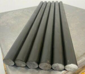 "5/8"" Steel Rod  1144  High-Strength  12"" Long Stressproof  (6 PC LOT)"