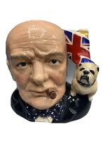 Royal Doulton Large Character Jug of the Year 1992 Winston Churchill D6907