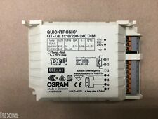OSRAM BALLAST QUICKTRONIC QT-T/E 1 X 18 230-340V OPEN TERMINALS DIMMERABLE 18W