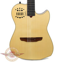 Godin Multiac Nylon SA Synth Ready Acoustic Electric Guitar Natural New B Stock