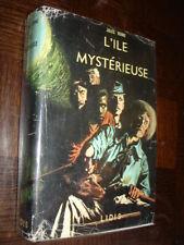 L'ILE MYSTERIEUSE - Jules Verne 1966 - Ed. Lidis - Ill. J. Poirier