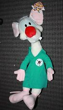 Warner Bros ANIMANIACS PINKY and the Brain Acme Lab PLUSH DOLL 1997 WB cartoon