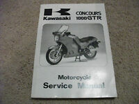 1996 Kawasaki CONCOURS 1000 GTR Motorcycle Service Manual