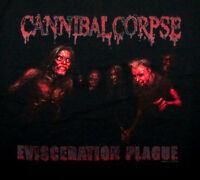 CANNIBAL CORPSE cd cvr EVISCERATION PLAGUE Official SHIRT SMALL new