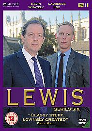 Lewis - Series 6 - Complete (DVD, 2012, 2-Disc Set)