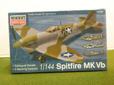 1/144 scale WWII SPITFIRE MK VB  model aircraft by Minicraft
