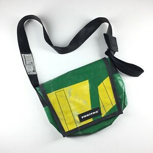Unisex FREITAG Series G5.1 Bag Messenger Backpack Briefcase Casual Green Yellow