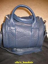 NWT Alexander Wang Ink Blue Rockie Bag Studded Duffle Handbag