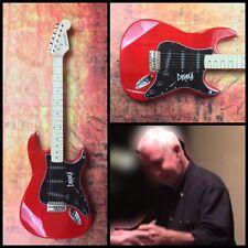GFA Dead Kennedys Guitarist * KLAUS FLOURIDE * Signed Electric Guitar PROOF COA