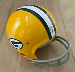 GREEN BAY PACKERS 1960s to 1970s NFL VINTAGE RAWLINGS YOUTH HELMET HNFL SMALL
