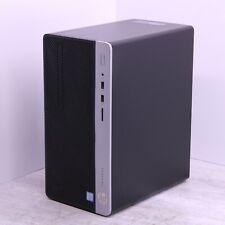 Hp 400 G4 Windows 10 Pro Desktop Pc Intel I5 7500 3.4Ghz 8Gb 240Gb Ssd Wifi