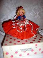 Vintage Nancy Ann Storybook Dolls ~ #193 A Independent Lady for July, JT & SH