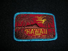 Hawaii Blue Patch Vintage 1980's