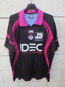 Maillot TOULOUSE F.C Airness noir away shirt camiseta football XXL