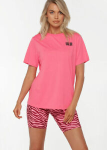 Lorna Jane Level Up Core Tee Shirt Workout Yoga S/Sleeve T-shirt Tops SZ XXS-XL