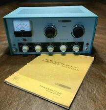 Heathkit DX 60B AM / CW Transmitter 80M - 10M Great Condition Checked & Working