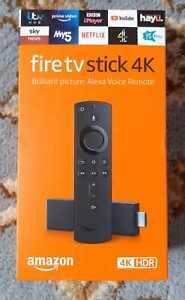 Amazon Fire TV Stick 4KHD with Alexa Voice Remote - Brand New