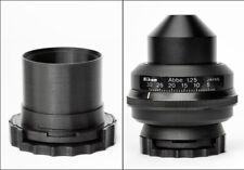 Nikon Microscope Condenser Darkfield Polarizing Oblique Insert Set