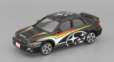 Bburago SUBARU  DIECAST CAR Logo Racer IMPREZA WRX STI Black