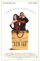 MOVIE FILM POSTER - The New Age (1994) Peter Weller Oliver Stone Video Store EXC