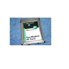 Apollo Fax/Modem/Data 56K V90 PC Card PCMCIA Laptop MQ4FM560
