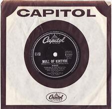 "WINGS - MULL OF KINTYRE Very rare 1977 Aussie 7"" POP Single Release! Near MINT!"