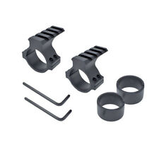 "2 Pc -Scope Barrel Mount 1""/25mm & 30mm Ring Adapter 20mm Weaver Picatinny Rail"