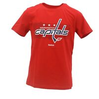 Washington Capitals Official NHL Reebok Apparel Kids Youth Size T-Shirt New Tags