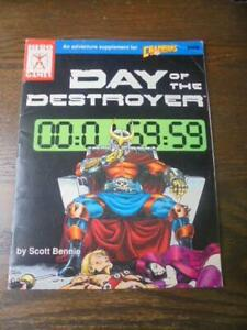 Day of the Destroyer (Champions Super Role-Playing Game 408) - 1991 Iron Crown