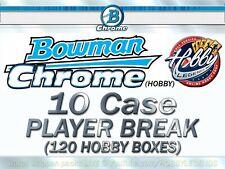Stephen Strasburg NATIONAL 2020 Bowman Chrome HOBBY 10 Case(120Box) PLAYER Break