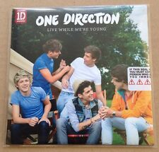 One Direction - Live While We're Young Ultra Rare UK Promo Cd 1D 2012 SEALED NEW