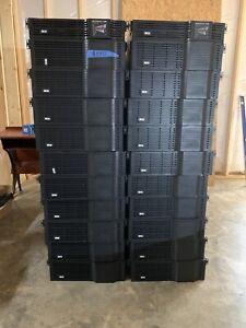2 Tripp-Lite UPS Units W/20 Cabinet's