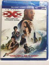 xXx: Return of Xander Cage (Blu-ray/Dvd/Digital,2017 ,2-Disc)Vin Diesel,Brand New