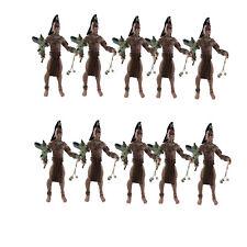 "Lot of 10pcs 3.75"" Indiana Jones Kingdom of The Crystal Skull UGHA WARRIOR New"