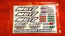 MUGEN SEIKI E1059 Decal MGT7®  Rallygame Nitro 2017