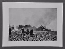 Robert Capa Photo Heliogravure 40x30 Germany 1945 Blasted Farmhouse Zerstörungen