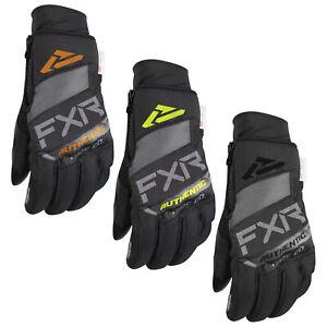 FXR Transfer Pro-Tec Glove Waterproof Polar Fleece Lining Durable Knuckle Armor