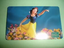 "Rare Disney ""Snow White� Phone Card 1996 Walt Disney Wdcc *Only 1 on Ebay*!"