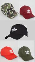 Adidas Originals Classic Baseball Cap Trefoil Logo Black Camo Green Red Burgundy