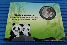 2012 Singapore China Giant Panda $2 Commemorative Cupro-Nickel Proof-Like Coin