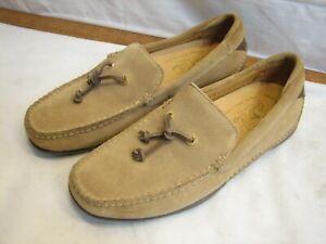 Sperry Top Sider One Eye Suede Leather Boat Shoes Deerskin Lining 9M Memory Foam