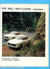 QUATTROR964-PUBBLICITA'/ADVERTISING-1964-FIAT 1500/1600 COUPE' S PININFARINA (A)