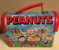 Peanuts Gang Limited Edition Collector Mini Round Top Lunch Box Tin