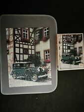 RARE Waddingtons 350 piece jigsaw puzzle  Vintage car in Germany 1985 ref 12716