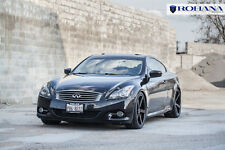 20x9 20x10 +25 Rohana RC22 5x114.3 Black Wheel Fit Infiniti G37 Sport 2011 5x4.5
