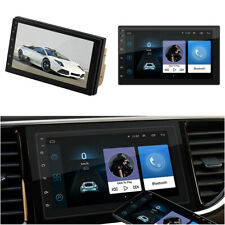 "Android 8.1 Bluetooth GPS Wifi FM Quad Core Car Stereo Radio 2 DIN 7"" MP5 Player"
