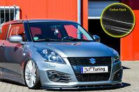 Frontspoiler Schwert Cuplippe aus ABS für Suzuki Swift Sport FZ/NZ Carbon Optik